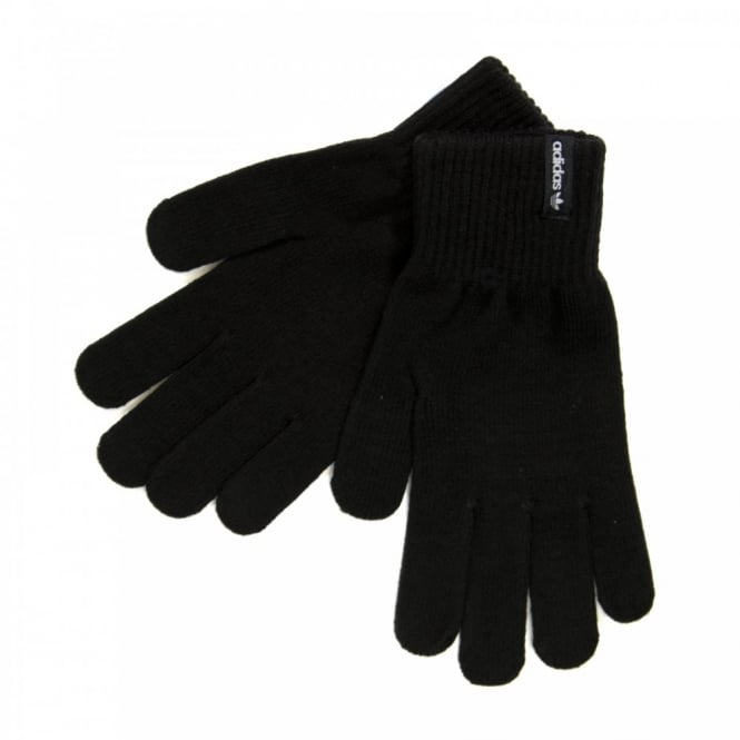 Adidas Originals Mens Trefoil Gloves (Black)