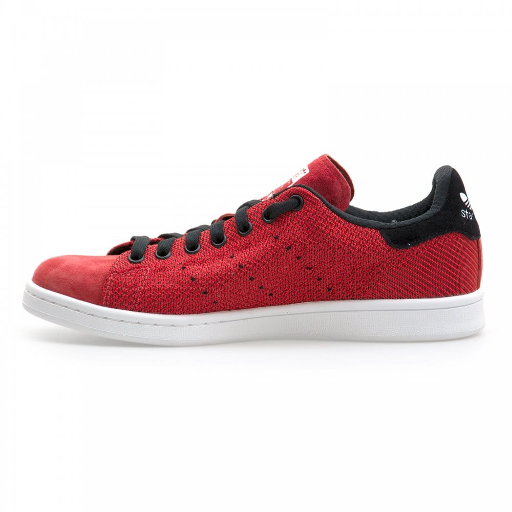 Adidas Stan Smith Red Black