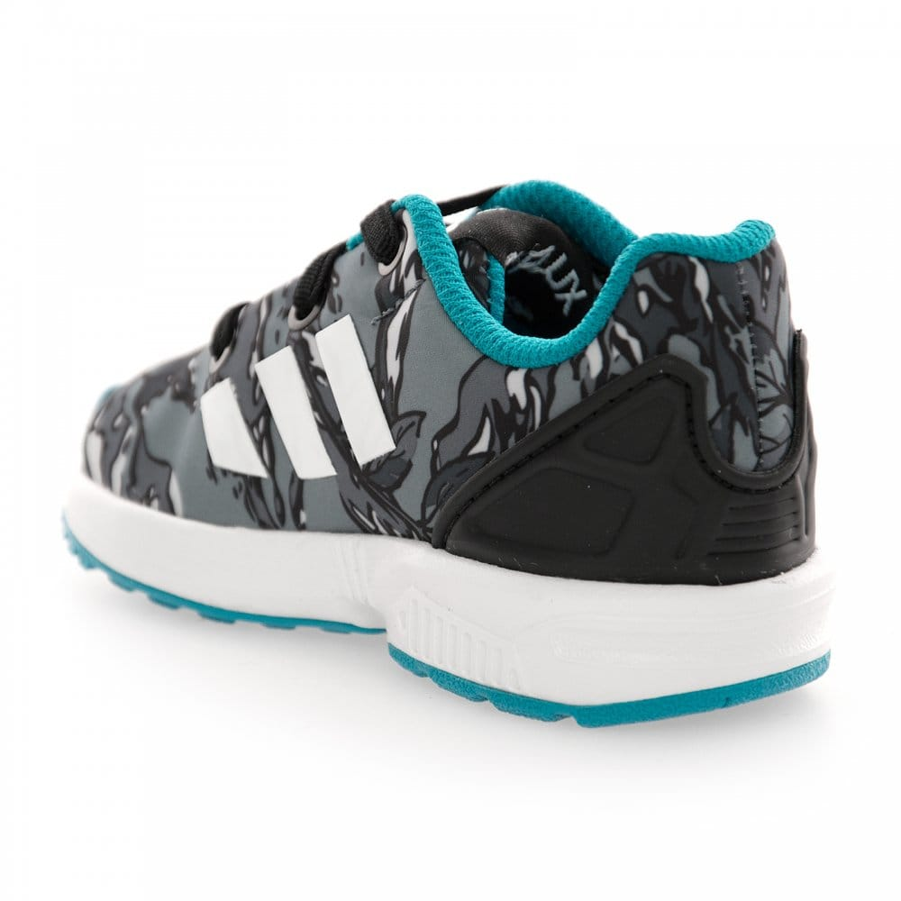 adidas Originals ZX Flux Xenopeltis Torsion Reflective Snake (grey