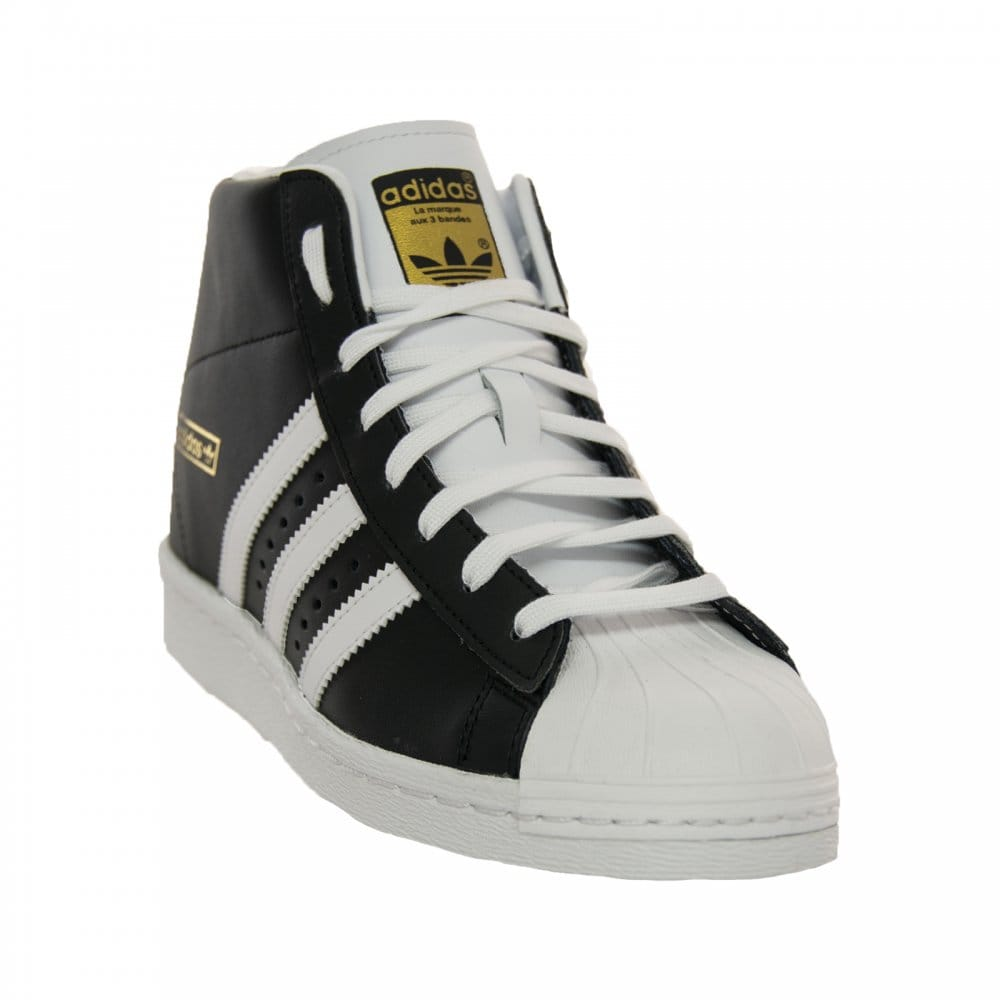 superstar up w ftwwht/cblack/goldmt Flight Club