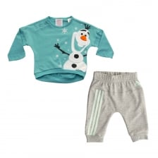 Adidas Performance Infants Disney Frozen Olaf Track Suit (Vapour Blue/White/Orange)