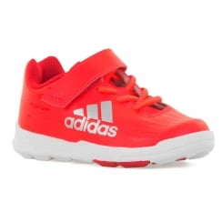 Adidas Performance Infants FB X Football Trainers (Red)