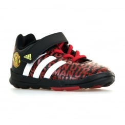 Adidas Performance Infants Manchester United 116 Football Trainers (Black/Scarlet/White)