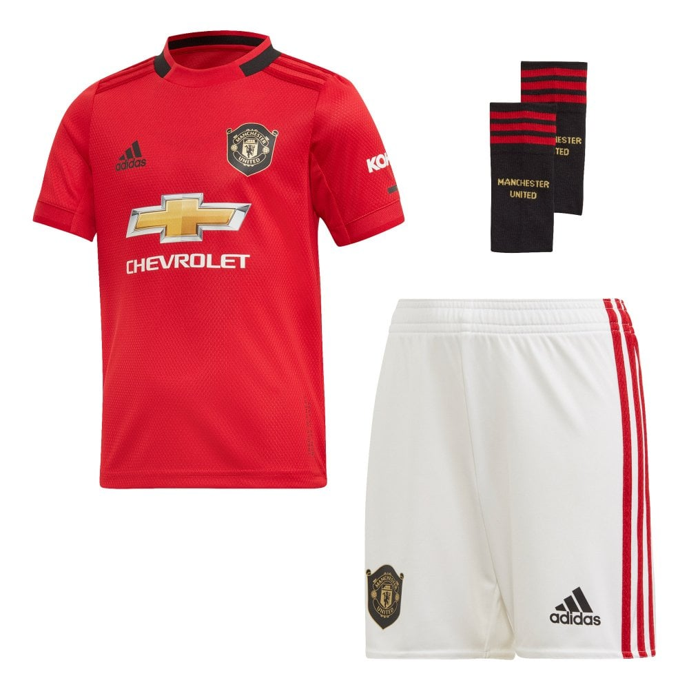 the best attitude 5f198 eb13d Infants Manchester United 2019/2020 Mini Home Kit (18M-6Y) (Red)