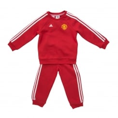 Adidas Performance Infants Manchester United Jog Suit (Real Red)