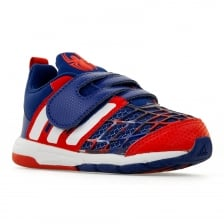 Adidas Performance Infants Marvel Spiderman Trainers (Red/White/Blue)