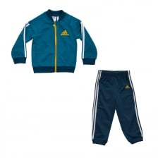 Adidas Performance Infants Shiny Tracksuit (Blue)