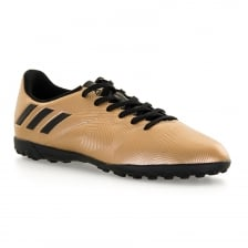 Adidas Performance Junior Messi 16.4 Turf Football Trainers (Gold/Black)