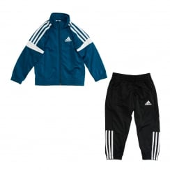 Adidas Performance Juniors 3-Stripe 116 Tracksuit (Blue)
