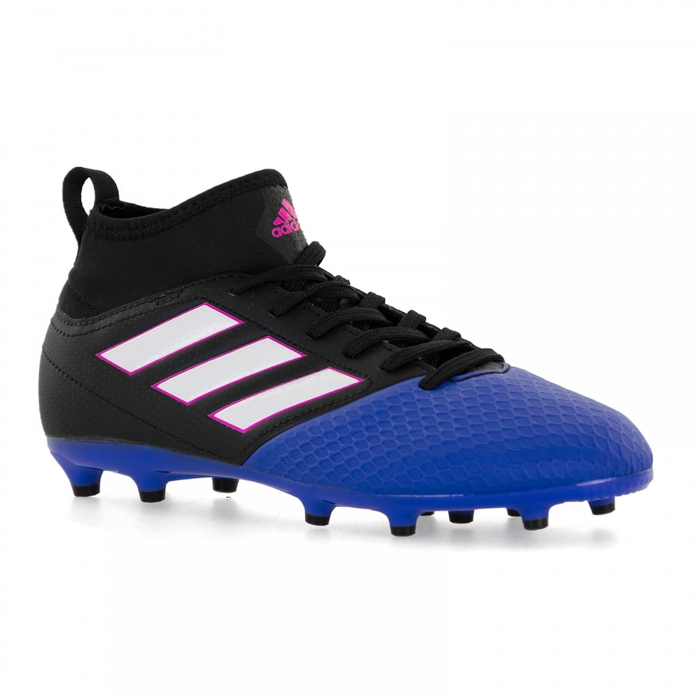 Adidas Performance Juniors Ace 17.4 TG Football Boots (Black ... b2ca3579b6a2