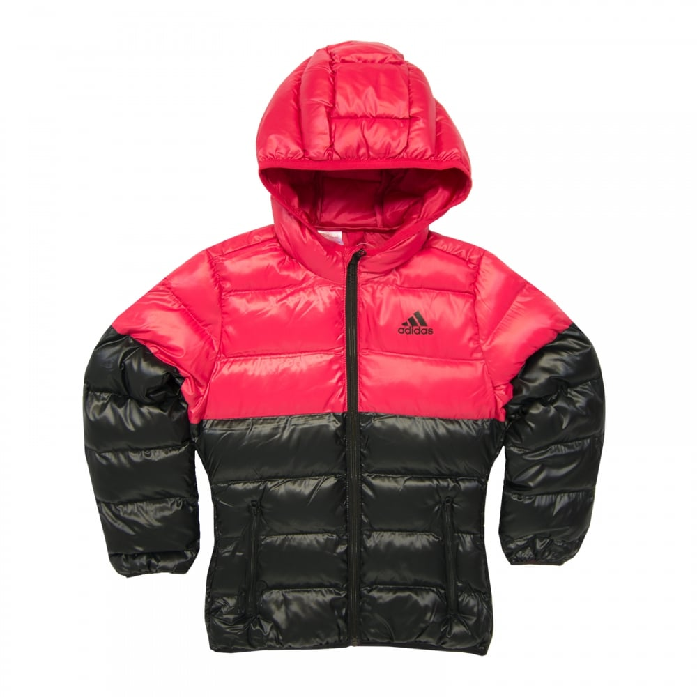 50cab274c Juniors Girls BTS Puffer Coat (Black/Pink)