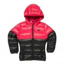 Adidas Performance Juniors Girls BTS Puffer Coat (Black/Pink)