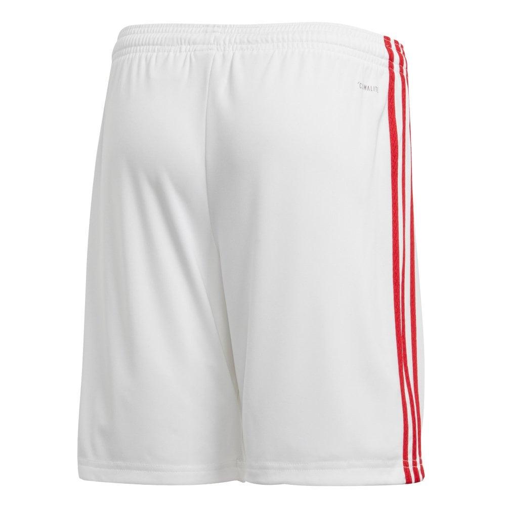 Juniors Manchester United 20192020 Home Shorts (White)