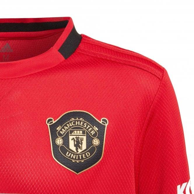 super popular 01654 eaaa2 Juniors Manchester United 2019/2020 Long Sleeve Home Shirt (Red)