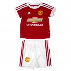 Adidas Performance Juniors Manchester United Home Mini Kit 15/16 (Red/White)