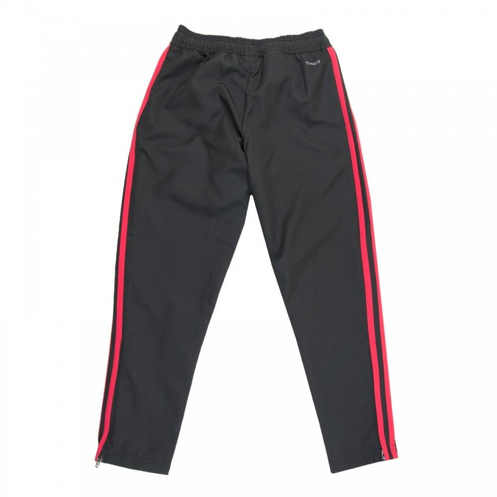 Juniors Manchester United Woven Training Pants Black