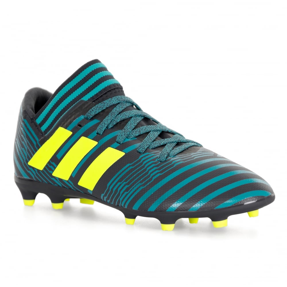 2b925d287566 ADIDAS Performance Juniors Nemeziz Messi 17.3 FG Football Boots (Blue Black)
