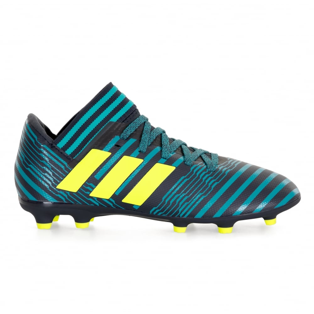 ADIDAS Performance Juniors Nemeziz Messi 17.3 FG Football Boots (Blue Black) a3be596f4