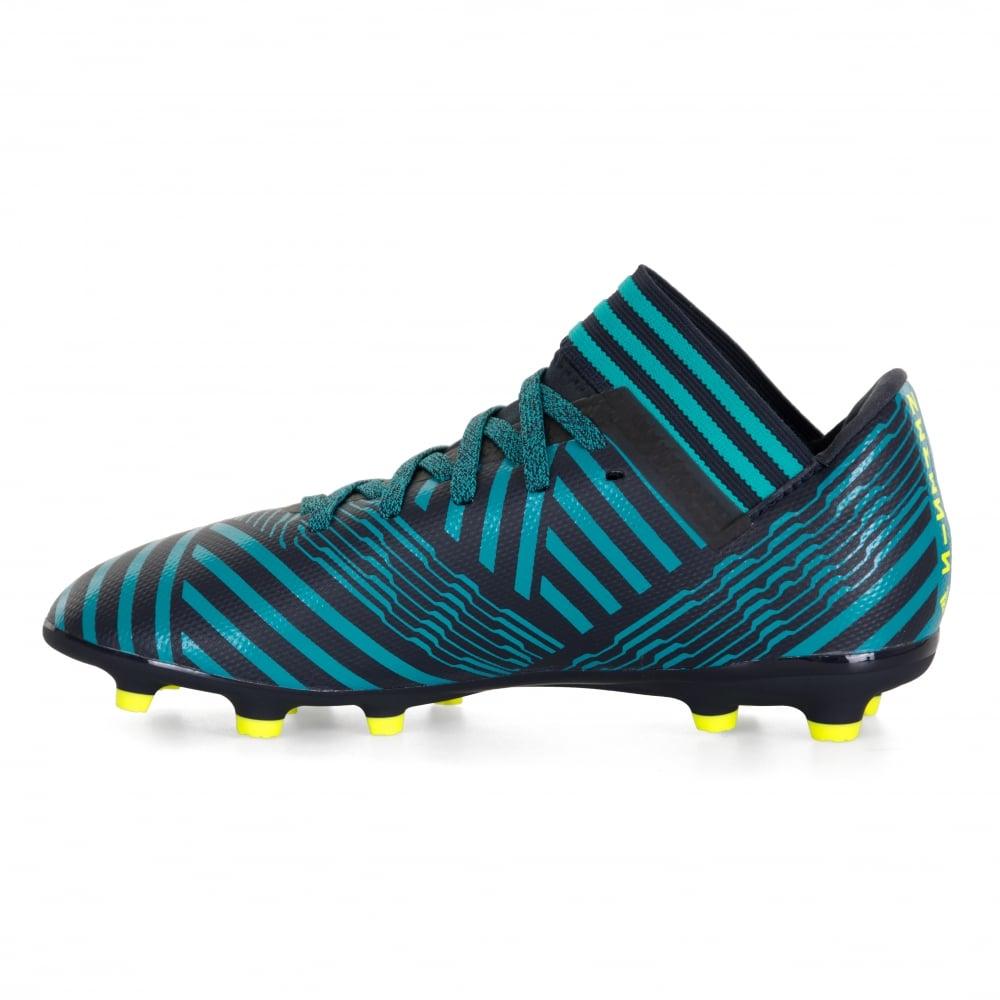 80fba099eb946 ADIDAS Performance Juniors Nemeziz Messi 17.3 FG Football Boots (Blue/Black)