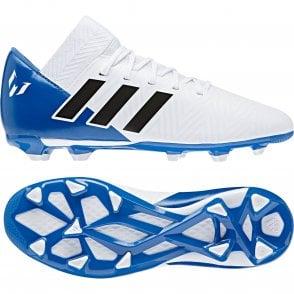 dd676f9c2 ADIDAS Performance Juniors Nemeziz Messi 17.4 FXG 317 Football Boots ...