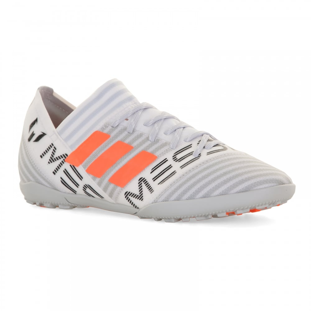 28fbe2924 ADIDAS Performance Juniors Nemeziz Messi Tango 17.3 Football Trainers  (White)