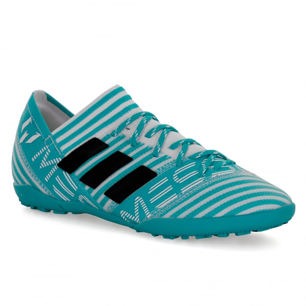 3e52c29570909 ADIDAS Performance Juniors Nemeziz Messi Tango 17.3 TF 317 Football  Trainers (Blue White)
