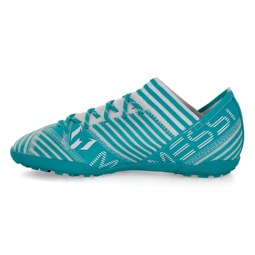 760f77958182 ADIDAS Performance Juniors Nemeziz Messi Tango 17.3 TF 317 Football Trainers  (Blue White)