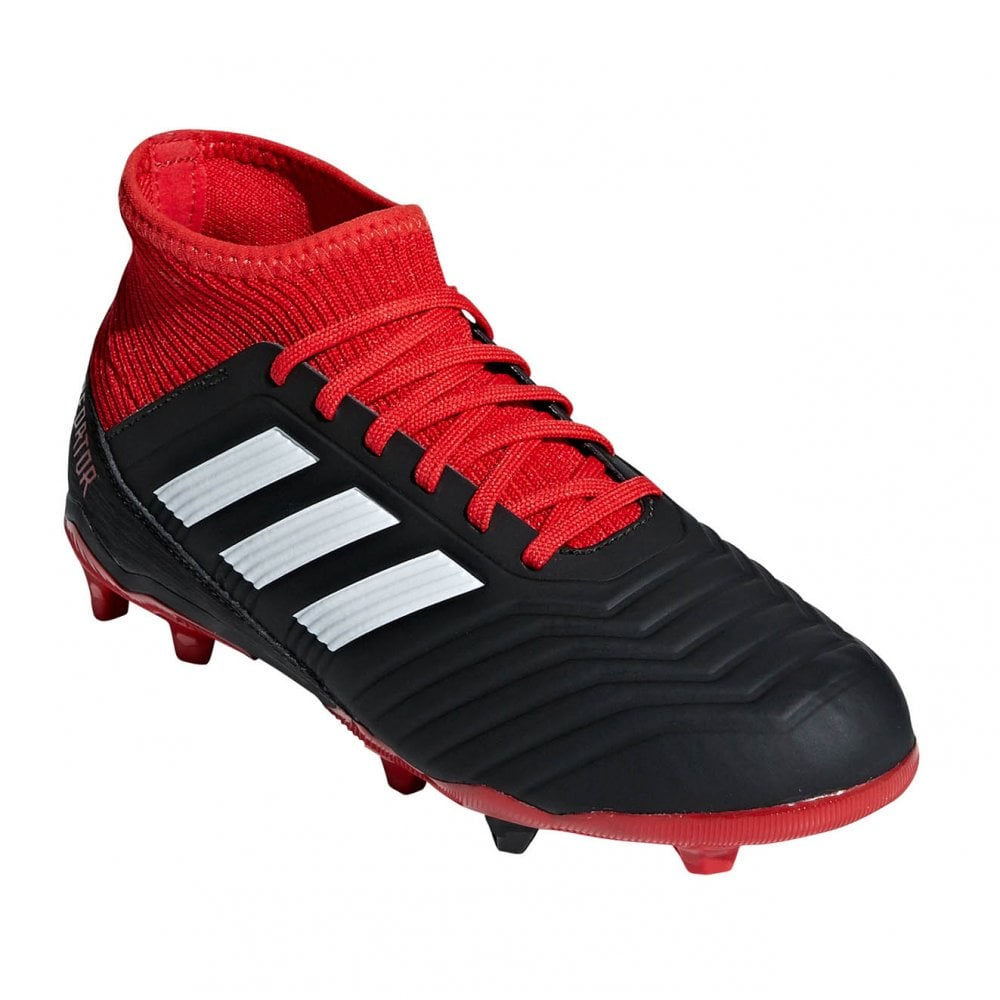 separation shoes 23adf 4ce58 ADIDAS Performance Juniors Predator 18.3 FG Football Boots (Black)