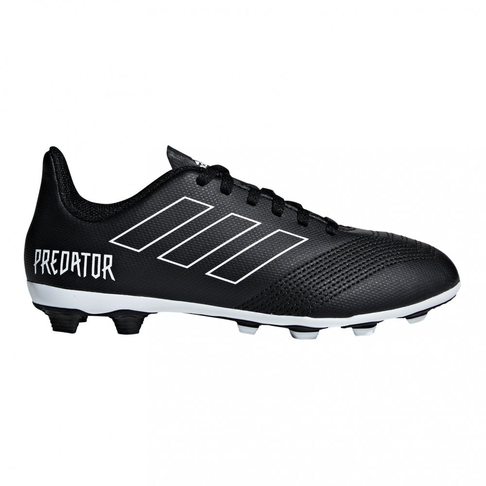 Juniors Predator 18.4 FxG J Football Boots (Black)