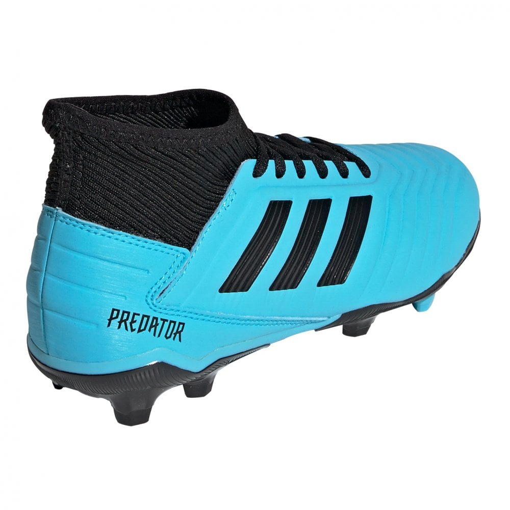 outlet online a few days away amazon Juniors Predator 19.3 FG Football Boots (Blue)