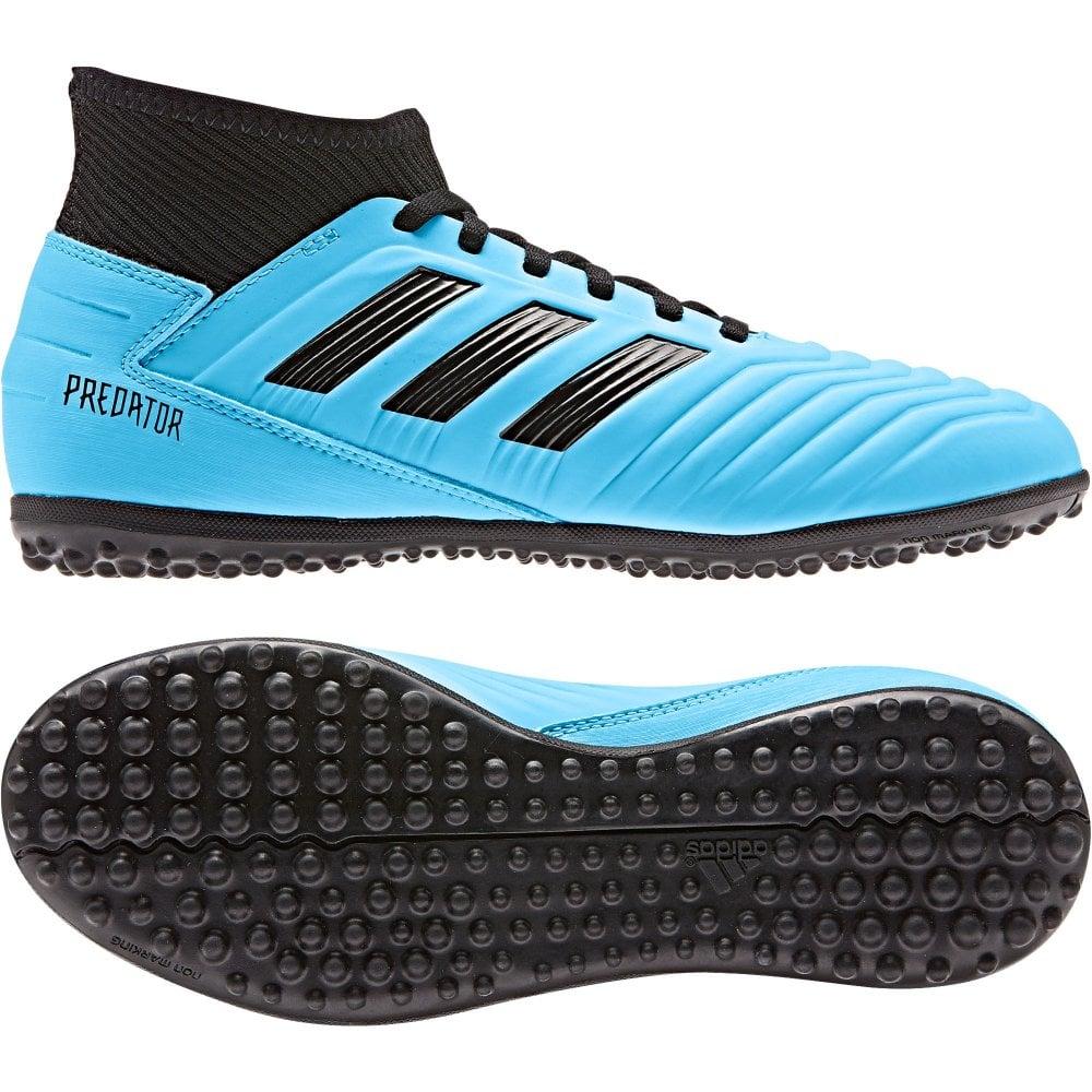 pre order running shoes designer fashion Juniors Predator 19.3 TF Football Trainers (Blue)