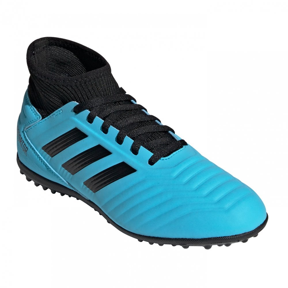 new style 100% genuine wholesale outlet Juniors Predator 19.3 TF Football Trainers (Blue)