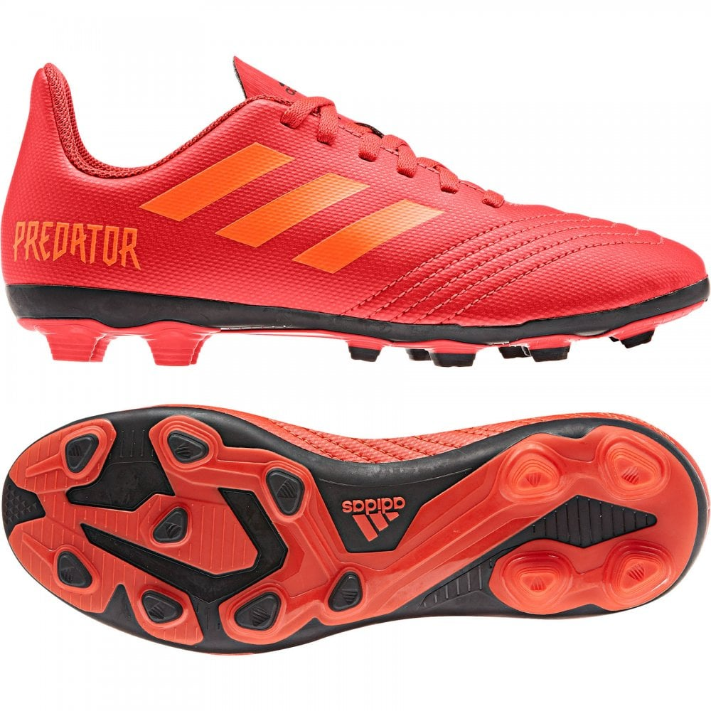9f7a5f4372 ADIDAS Performance Juniors Predator 19.4 FxG J Football Boots (Red ...