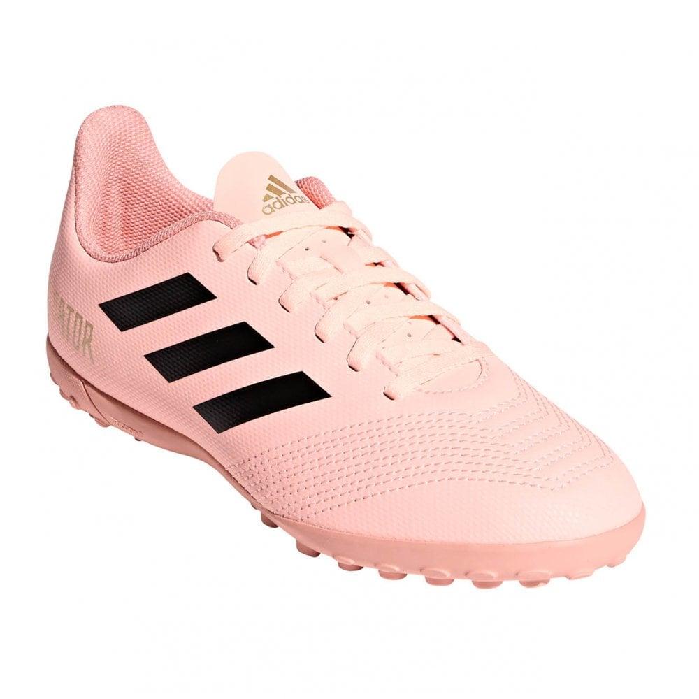 1b8694aa58d6 ADIDAS Performance Juniors Predator Tango 18.4 TF Football Trainers (Pink)