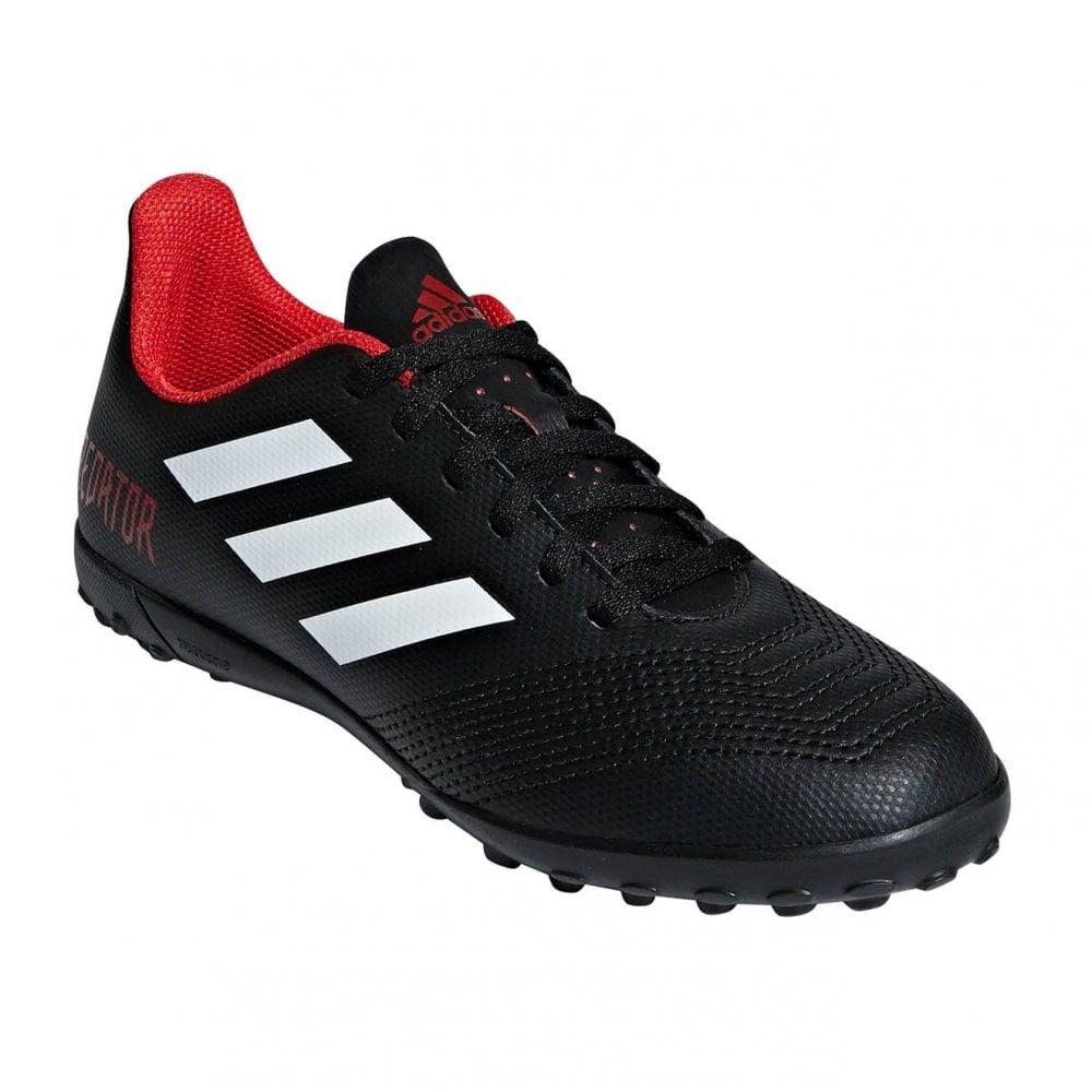 de69c6388ee5 ADIDAS Performance Juniors Predator Tango 18.4 Turf Football Boots (Black)