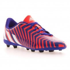 Adidas Performance Juniors Predito FXG SP15 Football Boots (Red/Blue)