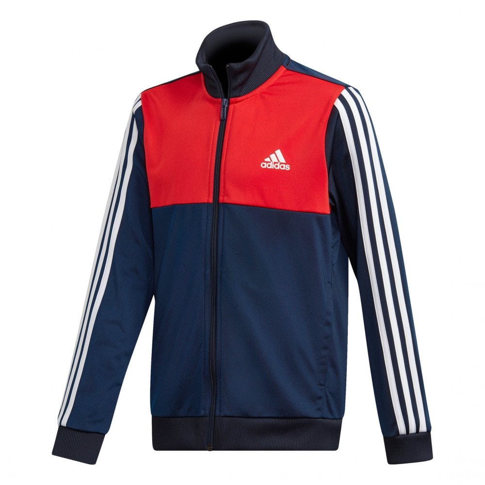 3e171e722a22 ADIDAS Performance Juniors Tibero Track Suit (Navy Red) - Kids from ...