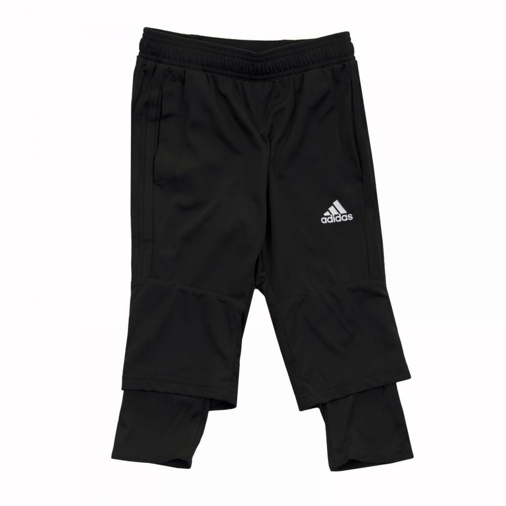 02047919cb57 ADIDAS Performance Juniors Tiro 17 3 4 Pants (Black) - Kids from ...