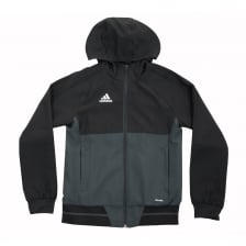 Adidas Performance Juniors Tiro 17 Jacket (Black)