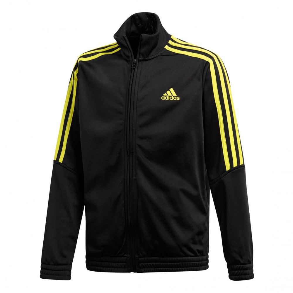ADIDAS Performance Juniors Tiro Track Suit (Black   Yellow) - Kids ... 71e13cf81
