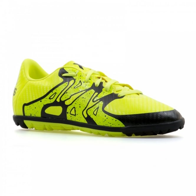 0e3437f5aad adidas performance juniors x 15.3 tf football boots yellow sports from loofes  uk