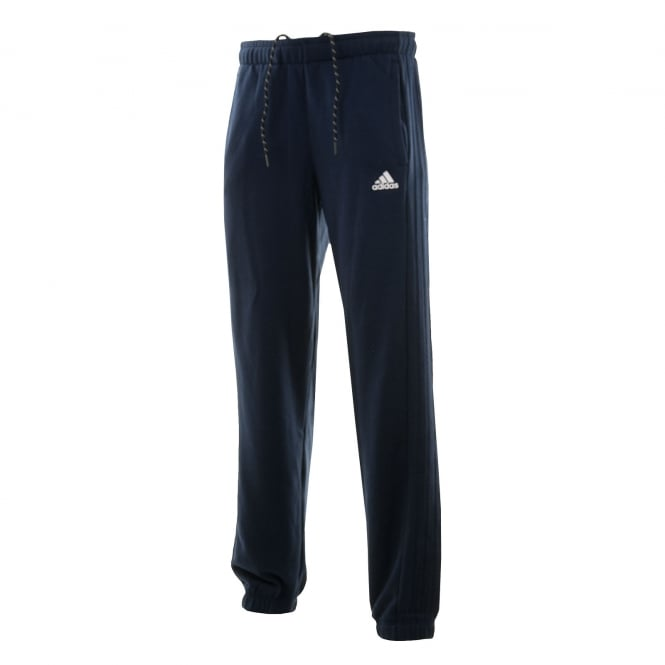 Adidas Performance Mens 3-Stripe 316 Fleece Pants (Navy)