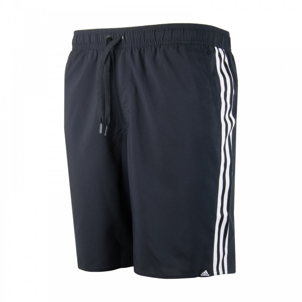 b6f9cd2d55 ADIDAS Performance Mens 3 Stripe Swim Shorts (Black) - Mens from ...