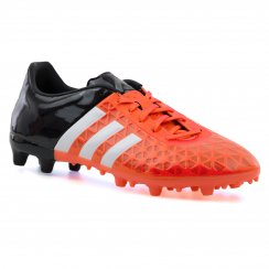Adidas Performance Mens Ace 15.3 FG Football Boots (Core Black/White/Solar Orange)