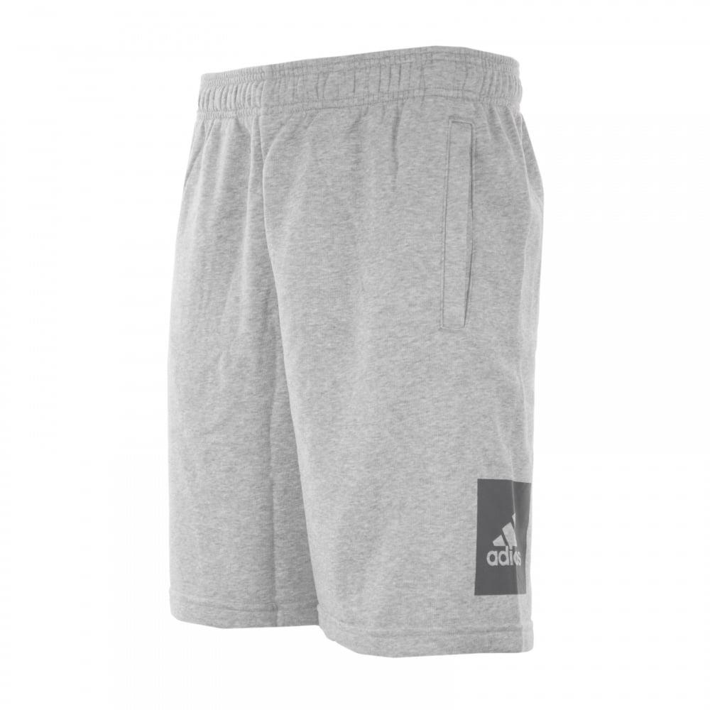 Big Shorts Logo Adidas Performance grey Mens PxTEBZ
