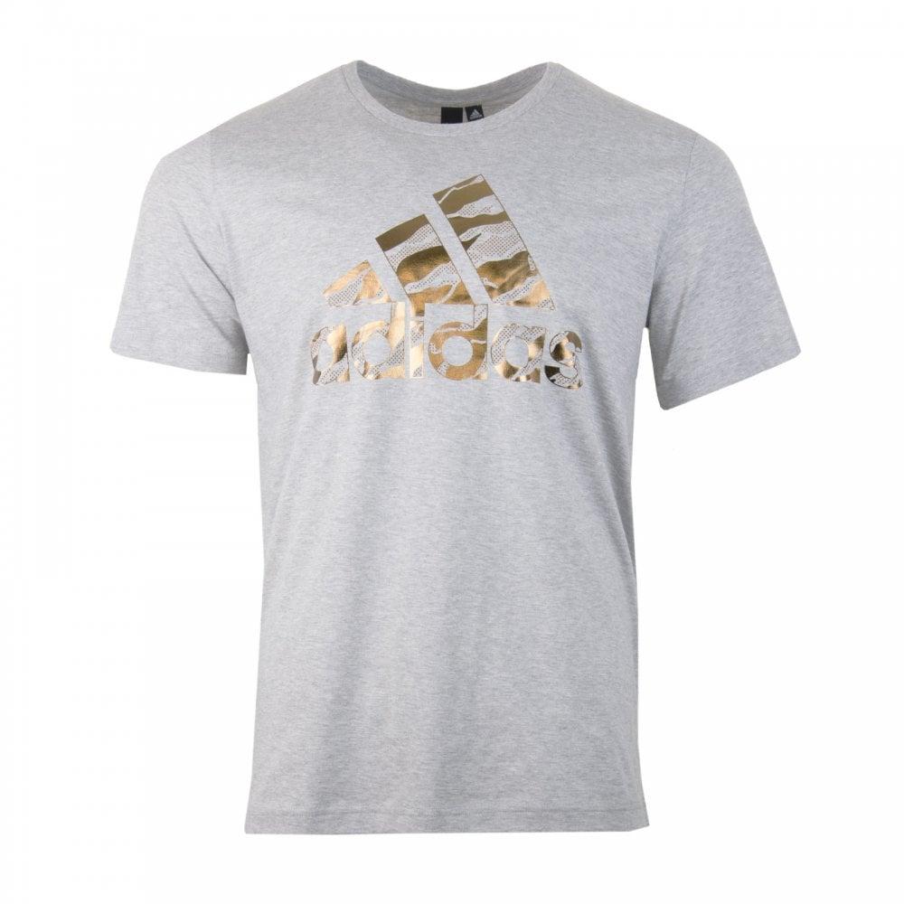 77406417 ADIDAS Performance Mens BOS Foil Camo T-Shirt (Grey) - Mens from ...
