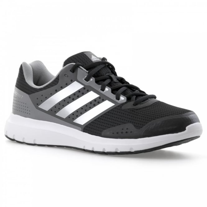 Adidas Performance Mens Duramo 7 Trainers (Black/Silver)