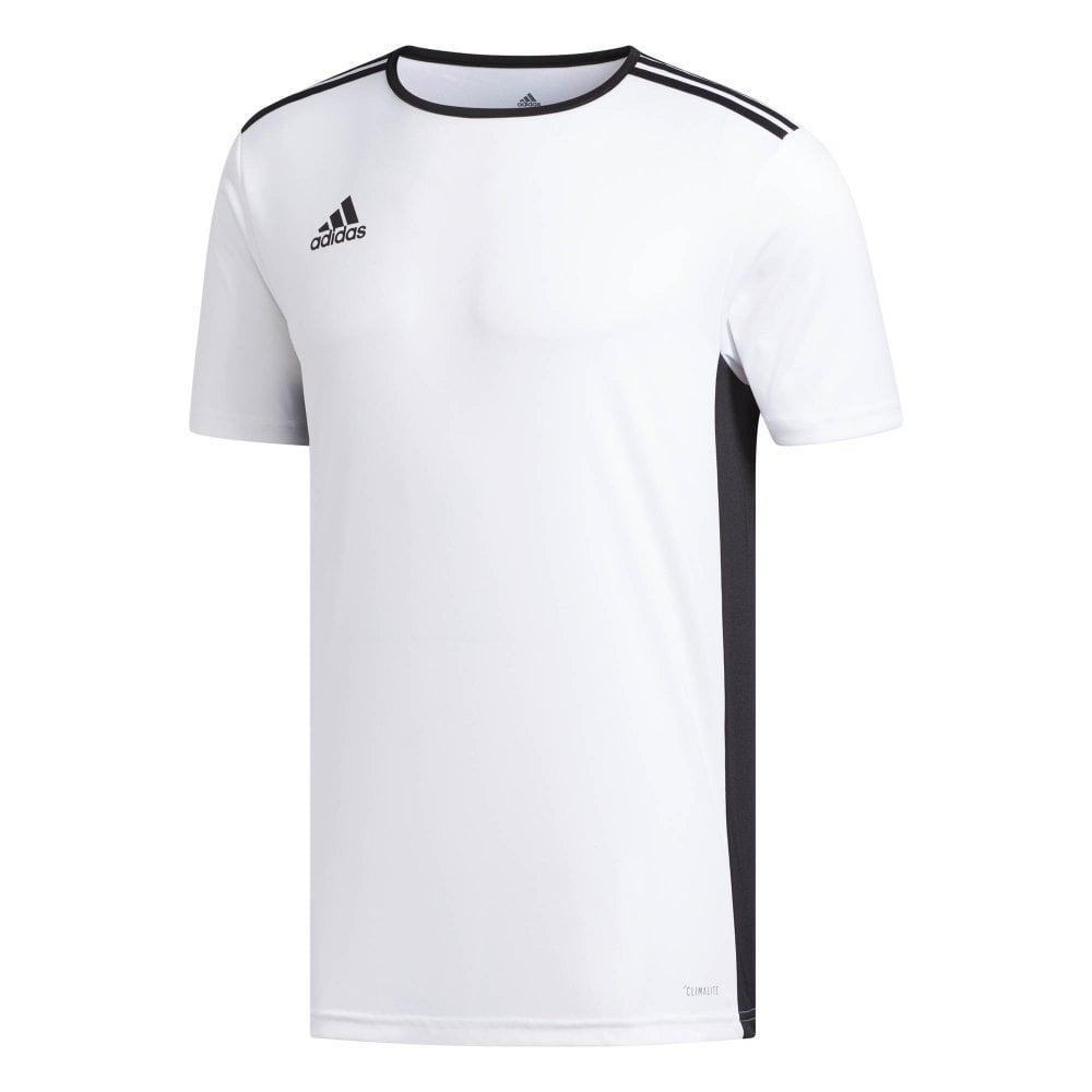 64dc94d5530 ADIDAS Performance Mens Entrada 18 Jersey T-Shirt (White / Black ...