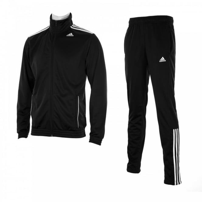 Adidas Performance Mens Entry Tracksuit (Black/White)