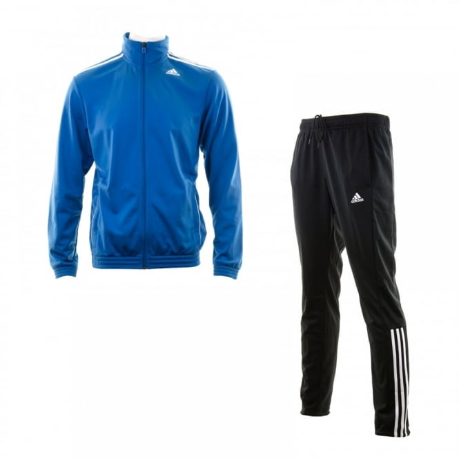 Adidas Performance Mens Entry Tracksuit (Blue/Black/White)